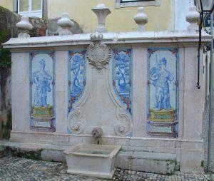 Fonte da Pipa em Sintra