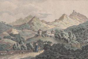Palácio de Monserrate em 1828