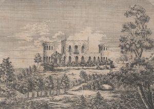 Palácio de Monserrate em 1852
