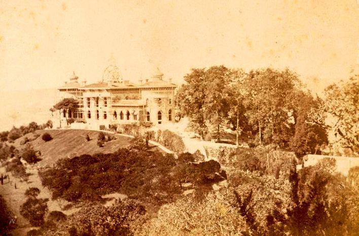 Palácio de Monserrate em obras