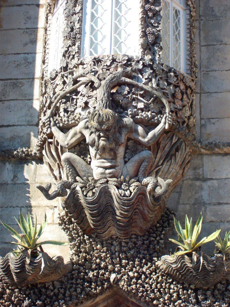 Palácio da Pena janela do Tritão
