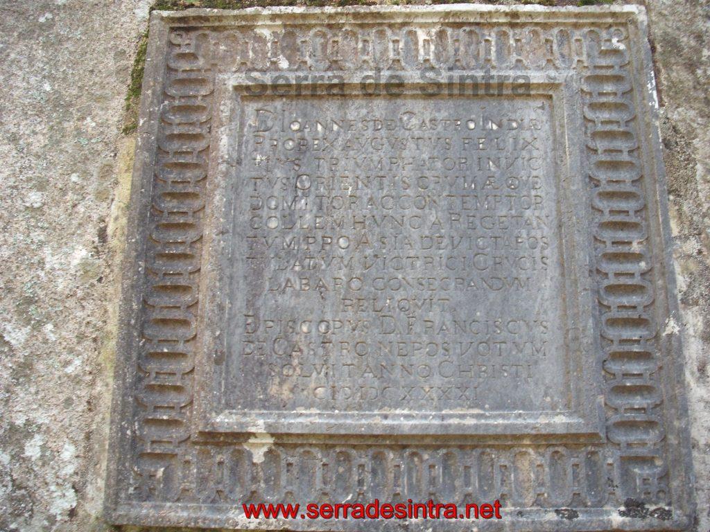 Penha Verde inscrição do Monte das Alviceras