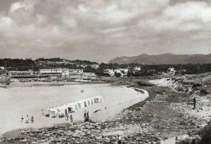 Praia das Maças em principio do Século