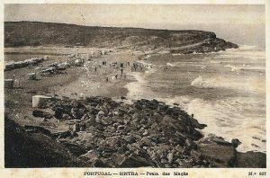 Praia das Maças em Agosto de 1939
