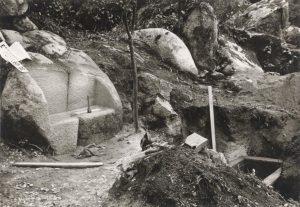 Túmulo de Ferreira de Castos no Castelo dos Mouros