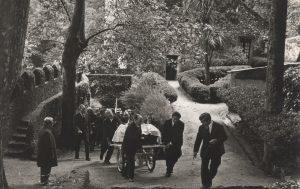 Funeral do Escritor Ferreira de Castro no Castelo dos Mouros
