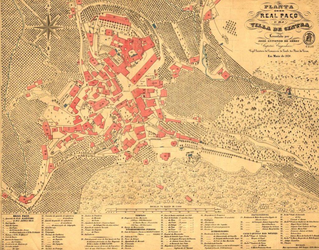 Paço Real em 1850