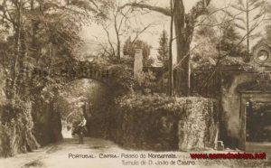 Entrada do Palácio da Quinta da Penha Verde
