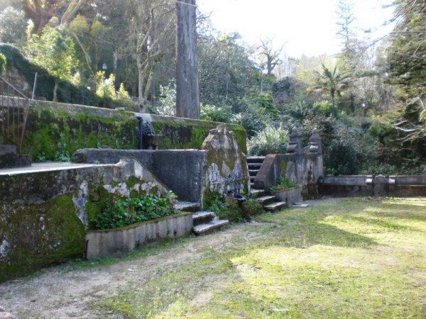 Quinta do Relógio em Sintra - jardins