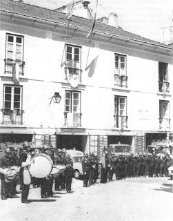 Antigo quartel dos BV Sintra grande Incêndio da Serra de Sintra