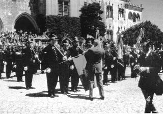 Reconhecimento aos Bombeiros grande Incêndio da Serra de Sintra