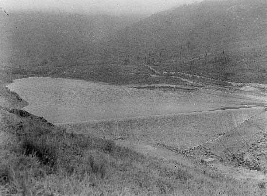 Barragem do Rio da Mula em 1930 1 Barragem do Rio da Mula