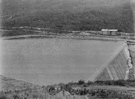 Barragem do Rio da Mula em 1930 5 Barragem do Rio da Mula