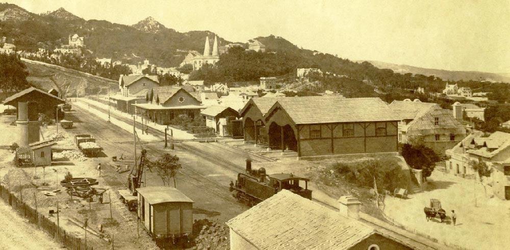 Fotografias Antigas da Estação CP Sintra