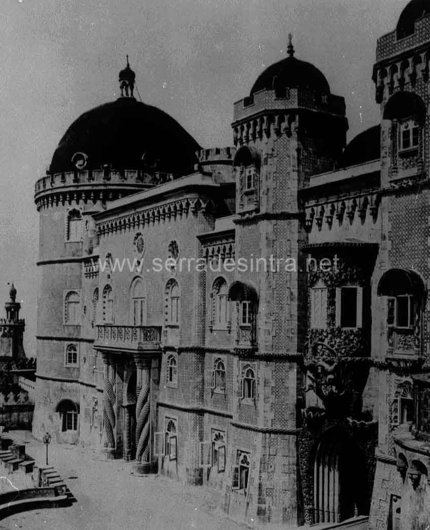 Palacio da Pena em Sintra 104 Fotografias Antigas do Palácio da Pena