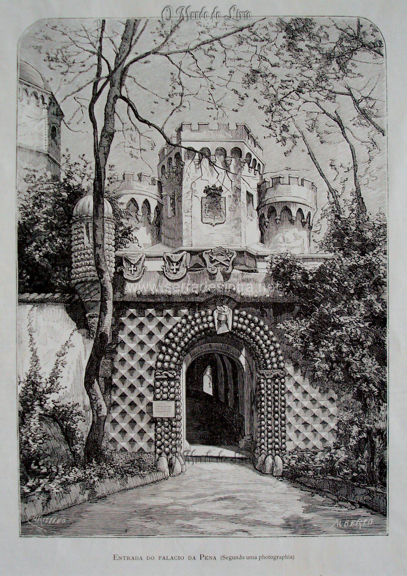 Palácio da Pena na Serra de Sintra