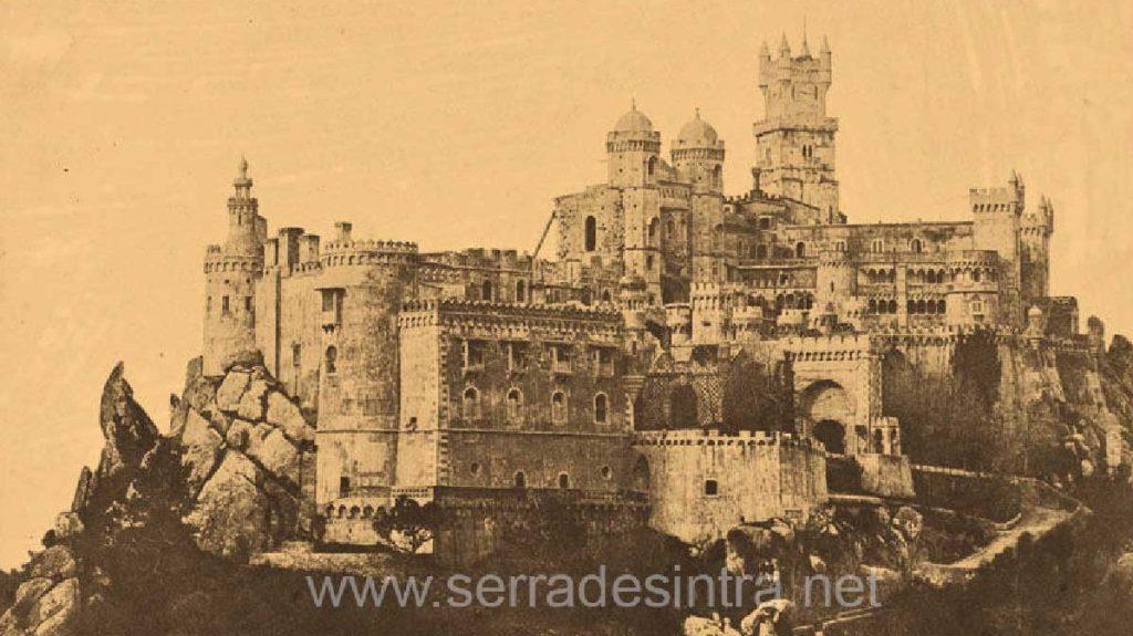 Palacio da Pena na Serra de Sintra