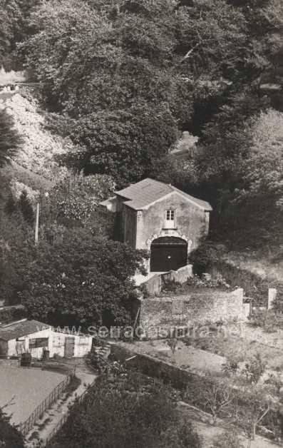 Vista geral da casa museu atelier Anjos Teixeira na Volta do Duche.