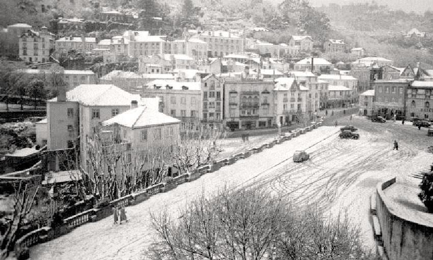 A neve em Sintra