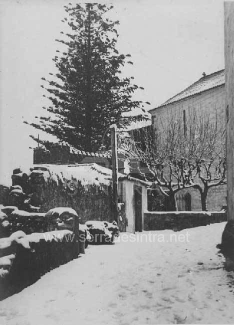 A neve em Sintra 15 A Neve em Sintra