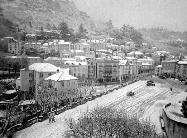A neve em Sintra 2 A Neve em Sintra