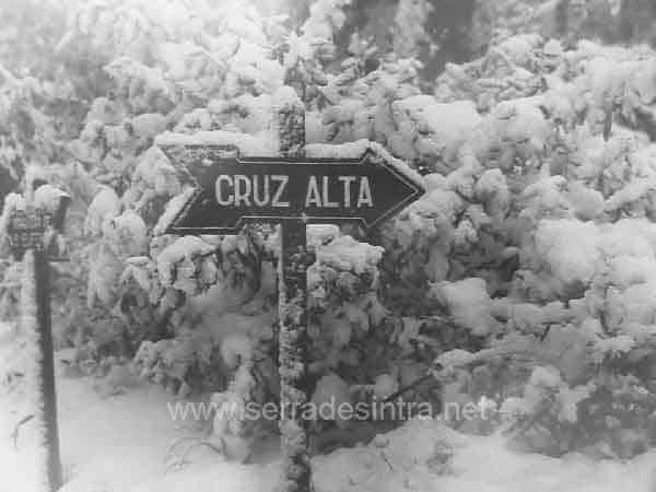 A neve em Sintra 3 A Neve em Sintra