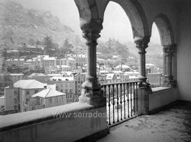 A neve em Sintra 4 A Neve em Sintra