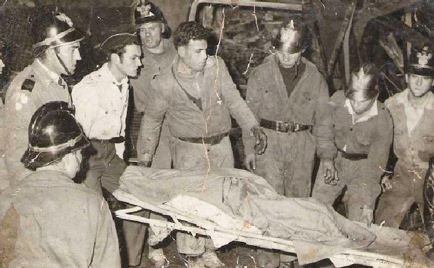Acidente comboio em Sintra em 1965 Acidente Comboio em Sintra