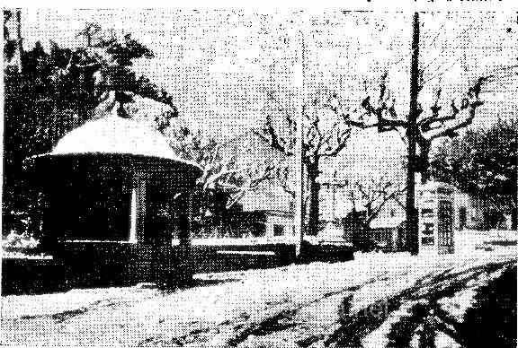 Diaro LIsboa 25 Fevereiro 1944 A Neve em Sintra