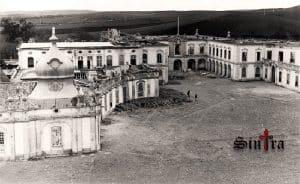 Grande incêndio no Palácio de Queluz