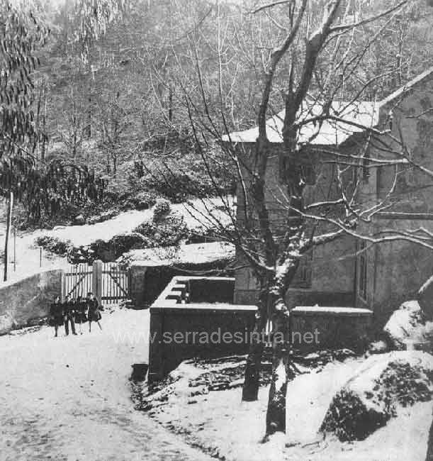 Neve em Sintra em 30 jan 1945 1 A Neve em Sintra