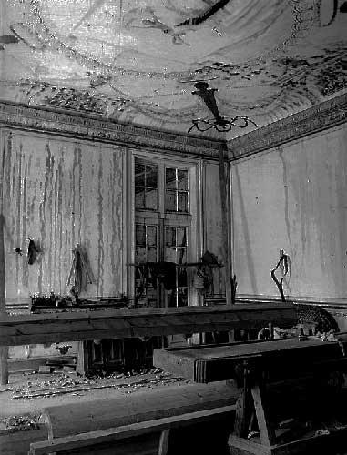 O Grande incendio no Palacio de Queluz 1 Incêndio no Palácio de Queluz
