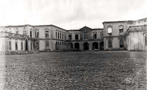 O Grande incendio no Palacio de Queluz 10 Incêndio no Palácio de Queluz