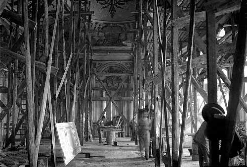 O Grande incendio no Palacio de Queluz 14 Incêndio no Palácio de Queluz