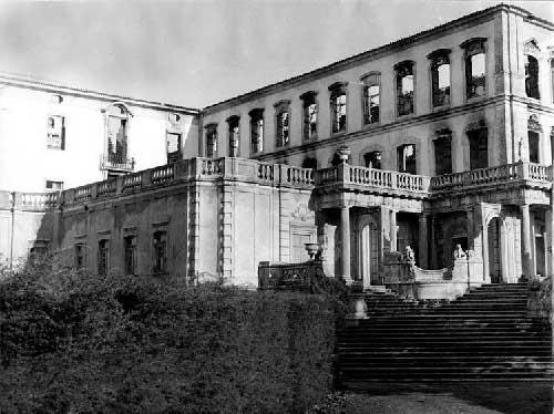 O Grande incendio no Palacio de Queluz 15 Incêndio no Palácio de Queluz