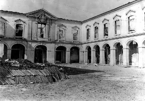 O Grande incendio no Palacio de Queluz 19 Incêndio no Palácio de Queluz