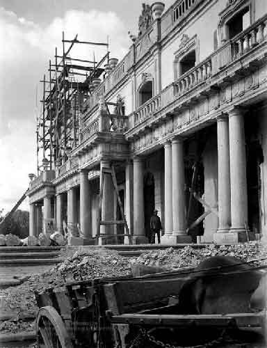 O Grande incendio no Palacio de Queluz 2 Incêndio no Palácio de Queluz