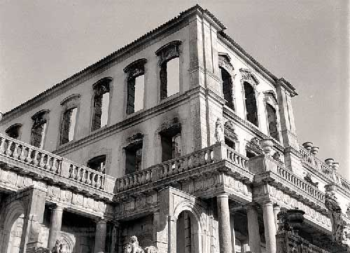 O Grande incendio no Palacio de Queluz 21 Incêndio no Palácio de Queluz