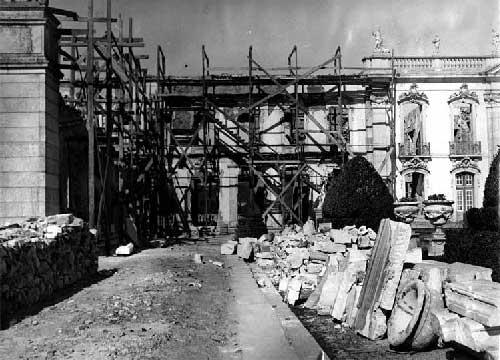 O Grande incendio no Palacio de Queluz 22 Incêndio no Palácio de Queluz