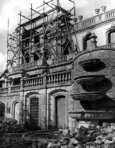 O Grande incendio no Palacio de Queluz 6 Incêndio no Palácio de Queluz