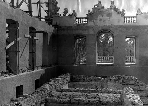 O Grande incendio no Palacio de Queluz 7 Incêndio no Palácio de Queluz