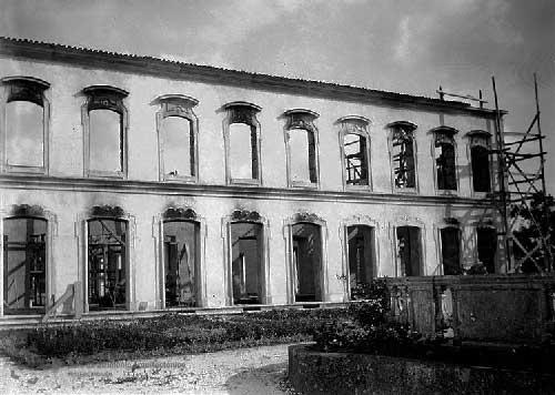 O Grande incendio no Palacio de Queluz 8 Incêndio no Palácio de Queluz