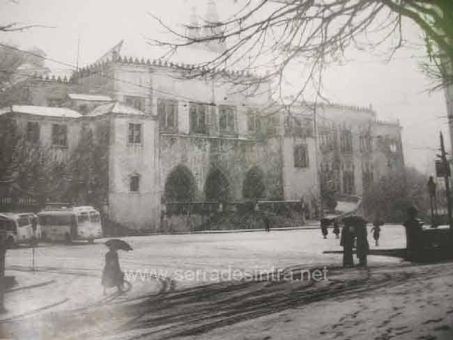 Palacio da Vila – Nevao de 1945 A Neve em Sintra