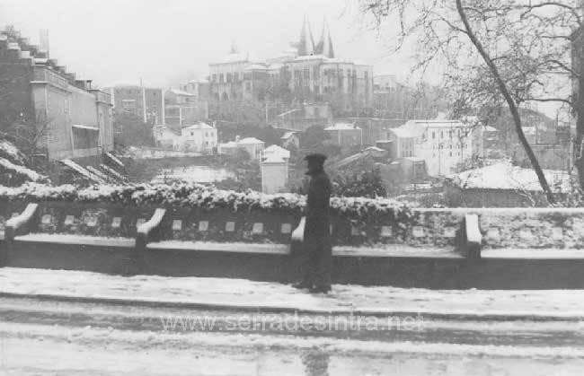 Sintra com neve. 1945 A Neve em Sintra
