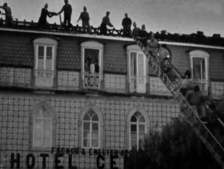 Incêndios na Serra de Sintra, Hotel Central