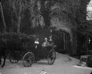 A rainha Dona Amelia e o Imperador Guilherme II da Alemanha Visitas Reais a Sintra
