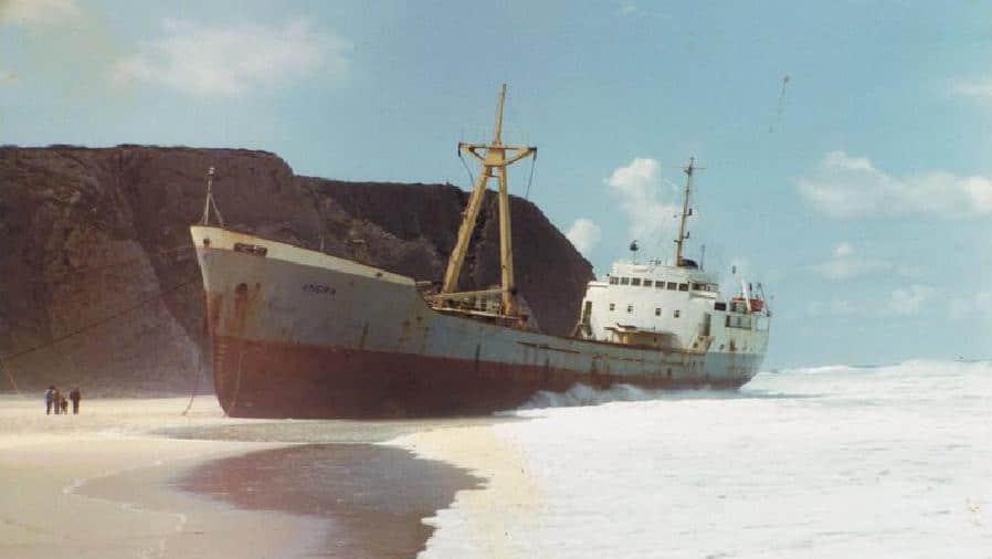 Naufrágio do Angra - Praia Grande 1983