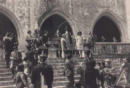 Principe Filipe Duque de Edimburgo em 1973 2 Visitas Reais a Sintra