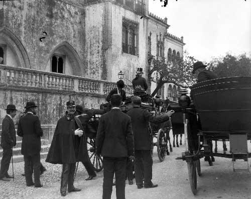 Visita dos Duques de Connaught Visitas Reais a Sintra