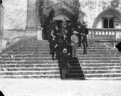 Visita dos duques de Connaught a Sintra 3 Visitas Reais a Sintra